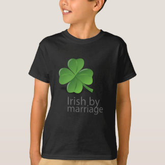 Irish by marriage clothing apparel for Celtic design t shirts uk
