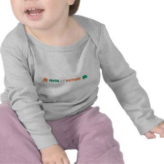 irish by nature tshirts