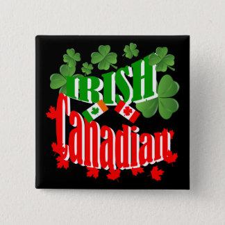 Irish Canadian 15 Cm Square Badge