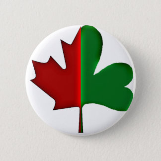 Irish Canadian 6 Cm Round Badge