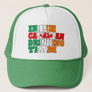Irish Canadian drinking team Trucker Hat