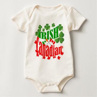 Irish Canadian St Patrick's day Baby Bodysuit