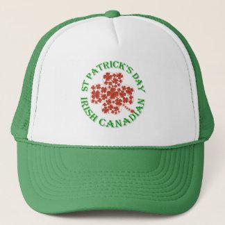 Irish Canadian St Patrick's Trucker Hat