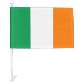 Irish car window flag for St Patricks Day Car Flag