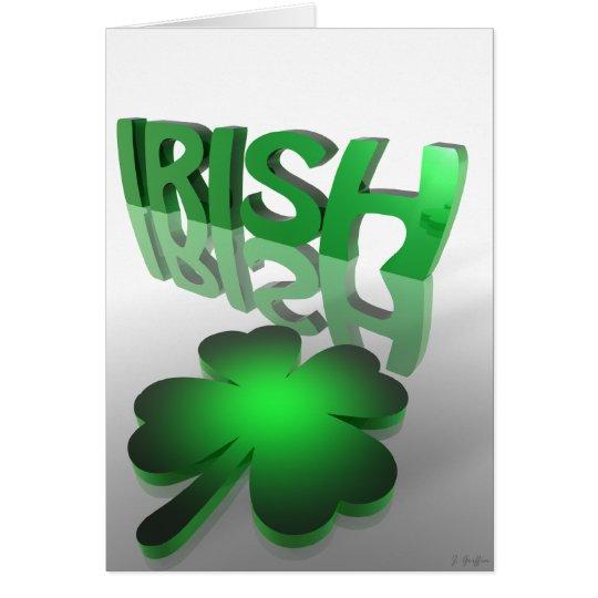 irish  card