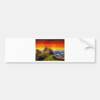 Irish Castle Bumper Sticker