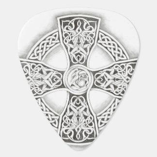 Irish Celtic Cross Fantasy Guitar Pick