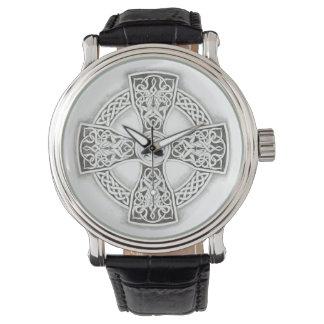 Irish Celtic Cross Vintage Watch