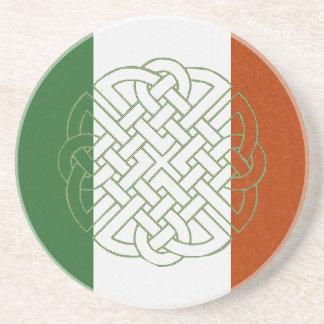 Irish Celtic Knot Beverage Coaster