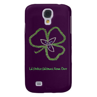 Irish Celtic Shamrock Knot Gaelic Galaxy S4 Case