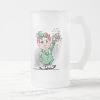 Irish Cheers! Frosted Beer Mug