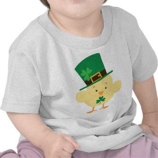 Irish Chick St Patricks Day Baby Tee