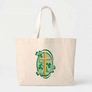 Irish Christianity Jumbo Tote Bag