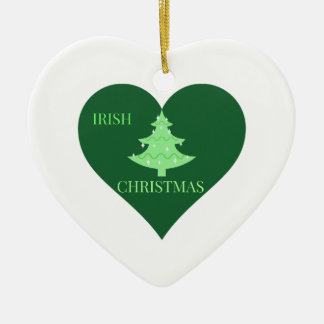 Irish Christmas Christmas Ornament