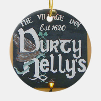 Irish Christmas Ornament, Durty Nelly's & Nollaig Christmas Ornament