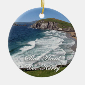 Irish Christmas Ornament,Slea Head, Ring Of Kerry Christmas Ornament