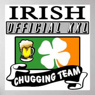 Irish Chugging Team Print