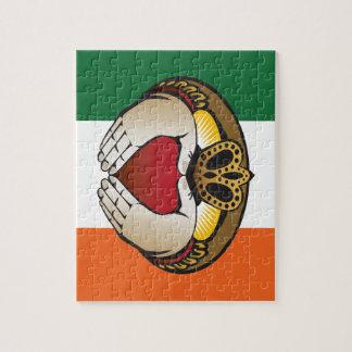 Irish Claddagh art Jigsaw Puzzle