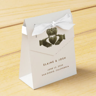 Irish Claddagh gift favor boxes