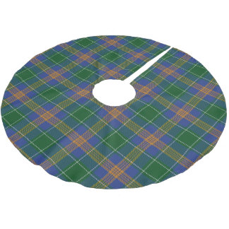 Irish Clan McAuliffe MacAuliffe Tartan Brushed Polyester Tree Skirt