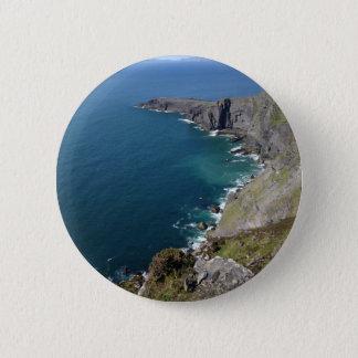 Irish Cliffs In Dingle Ireland By The Ocean 6 Cm Round Badge