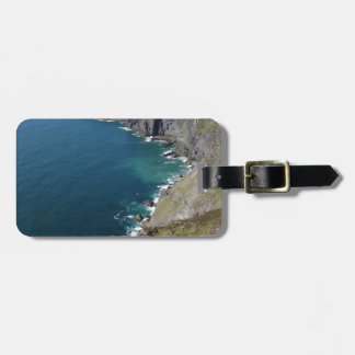 Irish Cliffs In Dingle Ireland By The Ocean Luggage Tag