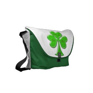 Irish Clover #1 Commuter Bags