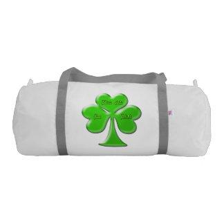 Irish Clover #1 Gym Duffel Bag