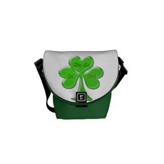 Irish Clover #1 Messenger Bag