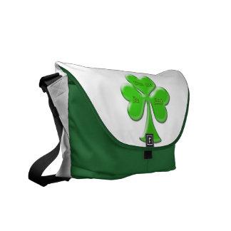 Irish Clover #1 Commuter Bag