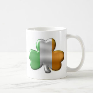 irish clover coffee mug