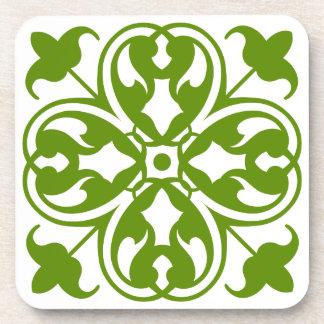 Irish Clover Drink Coasters