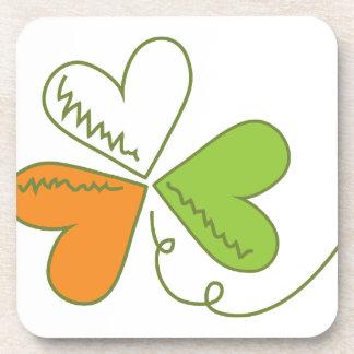 Irish Clover Drink Coaster