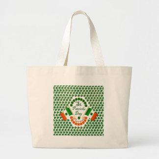 Irish clover flag of Ireland Eire gear Bag