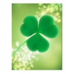 Irish Clover Green Sparkles Saint Patrick's Day