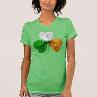 Irish Clover Shamrock Tricolor T-Shirt