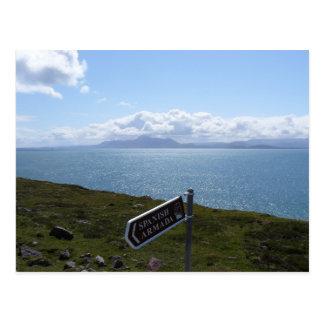 Irish Coast Postcard