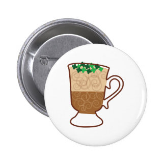 Irish Coffee 6 Cm Round Badge