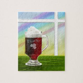 Irish Coffee Rainbow -holiday- -cards- Jigsaw Puzzle