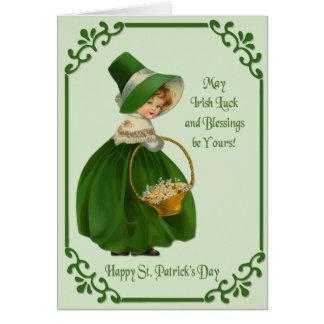 Irish Colleen Card