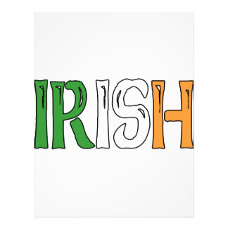 Irish Colors Full Color Flyer