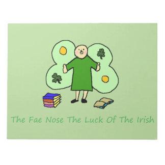 Irish Confuzzled Fae Notepad