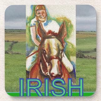 IRISH DRINK COASTERS