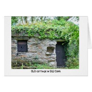 Irish cottage County Cork Card