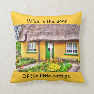 Irish Cottage Pillow