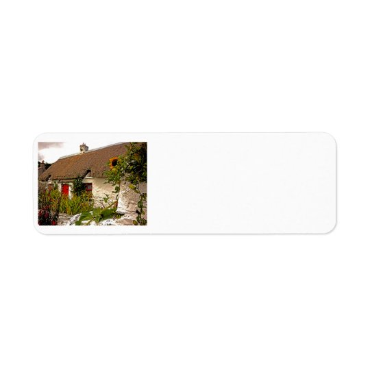 Irish Cottage Return Address Labels