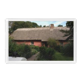 Irish Cottage Serving Tray Acrylic