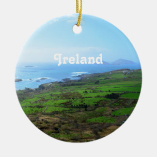 Irish Countryside Christmas Ornament