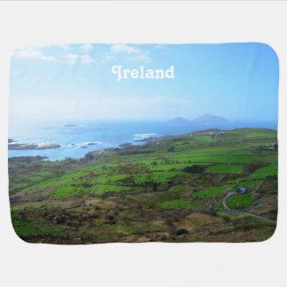 Irish Countryside Swaddle Blankets