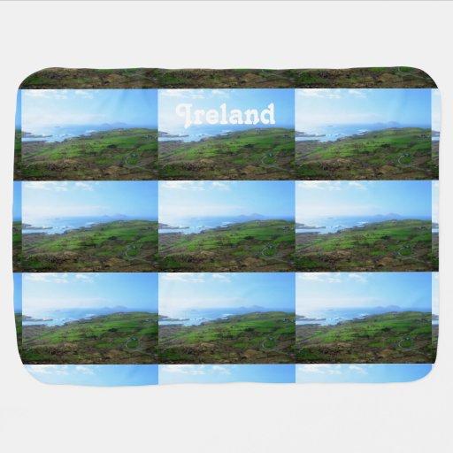 Irish Countryside Baby Blanket